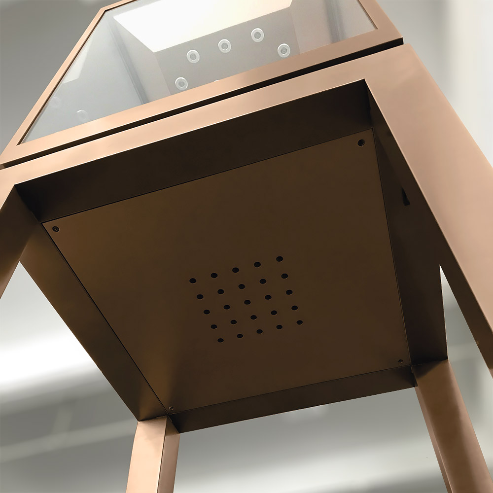 Heat Emission Hole Board Underneath | Besty Display