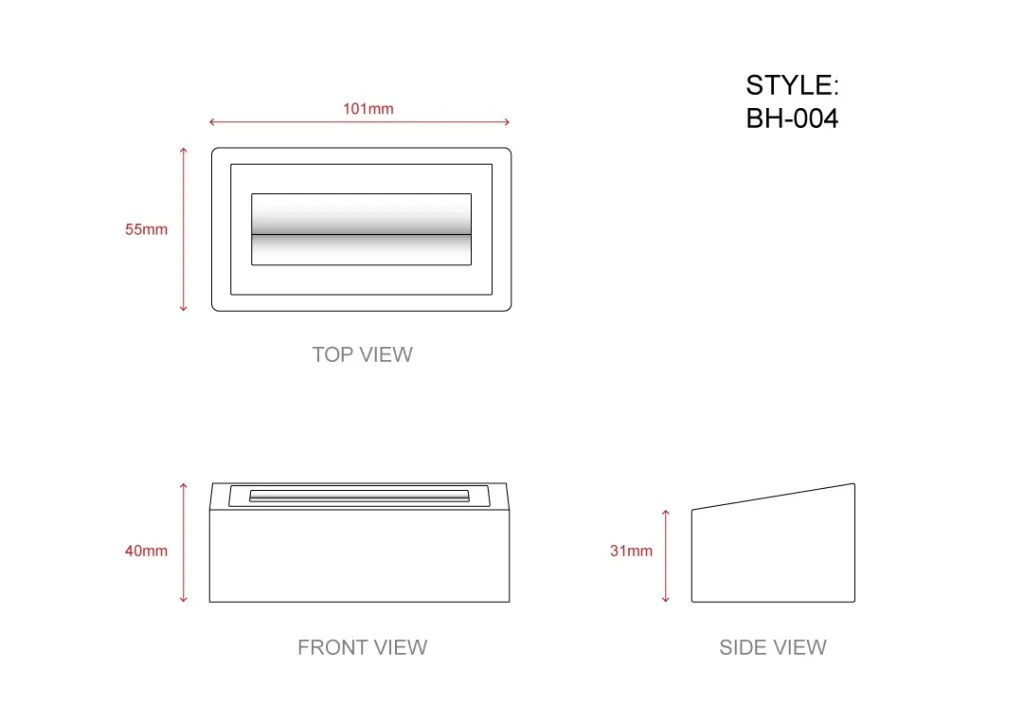 BH-004 Technical File Measurement | Besty Display