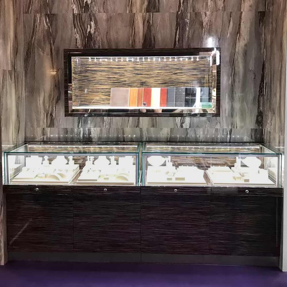 Serious of LX-05 Display Counter Glass & LX-06| Besty Display