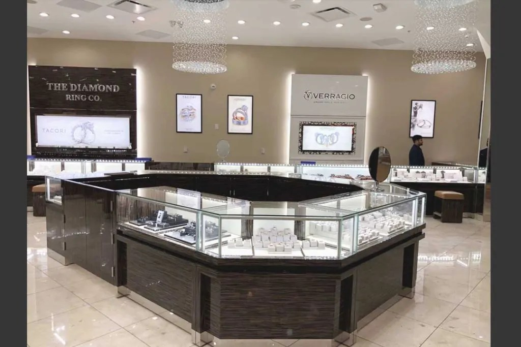 Shop of Jewelry Retailling with S-084   Besty Display