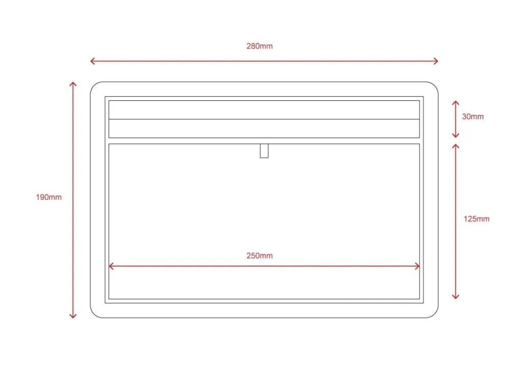 TR-03 Technical File Measurement | Besty Display