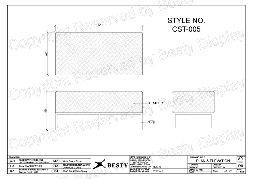 CST-005 Technical File Measurement   Besty Display