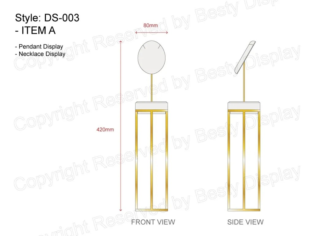DS-003 Item A Technical File Measurement   Besty Display