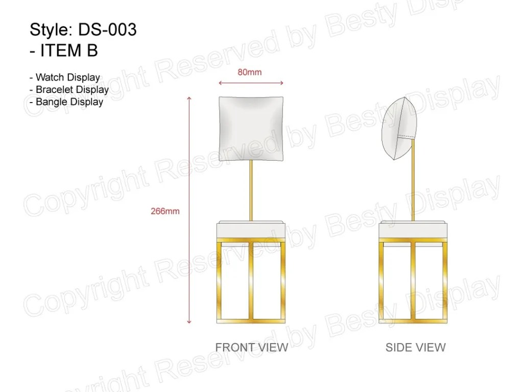 DS-003 Item B Technical File Measurement   Besty Display