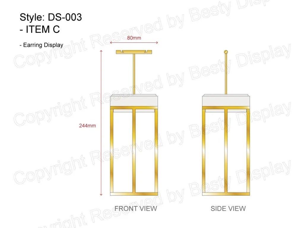 DS-003 Item C Technical File Measurement   Besty Display