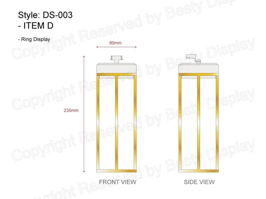 DS-003 Item D Technical File Measurement   Besty Display