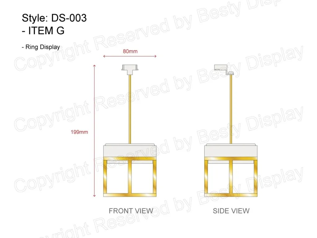 DS-003 Item G Technical File Measurement   Besty Display