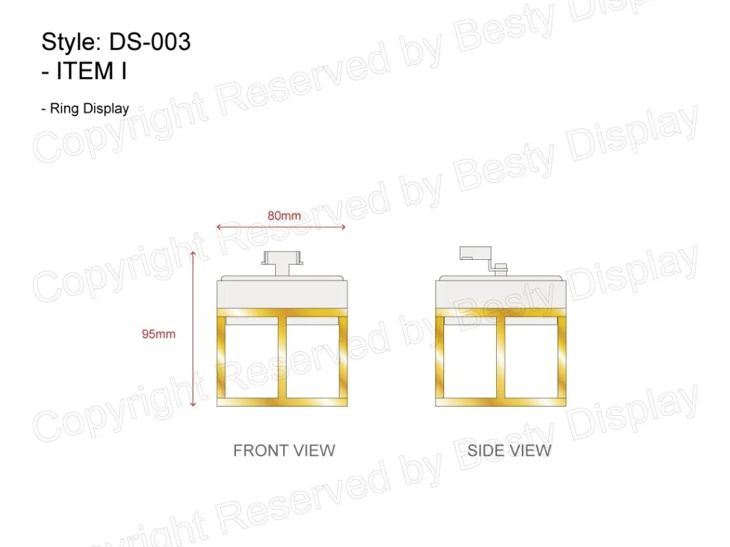 DS-003 Item I Technical File Measurement   Besty Display
