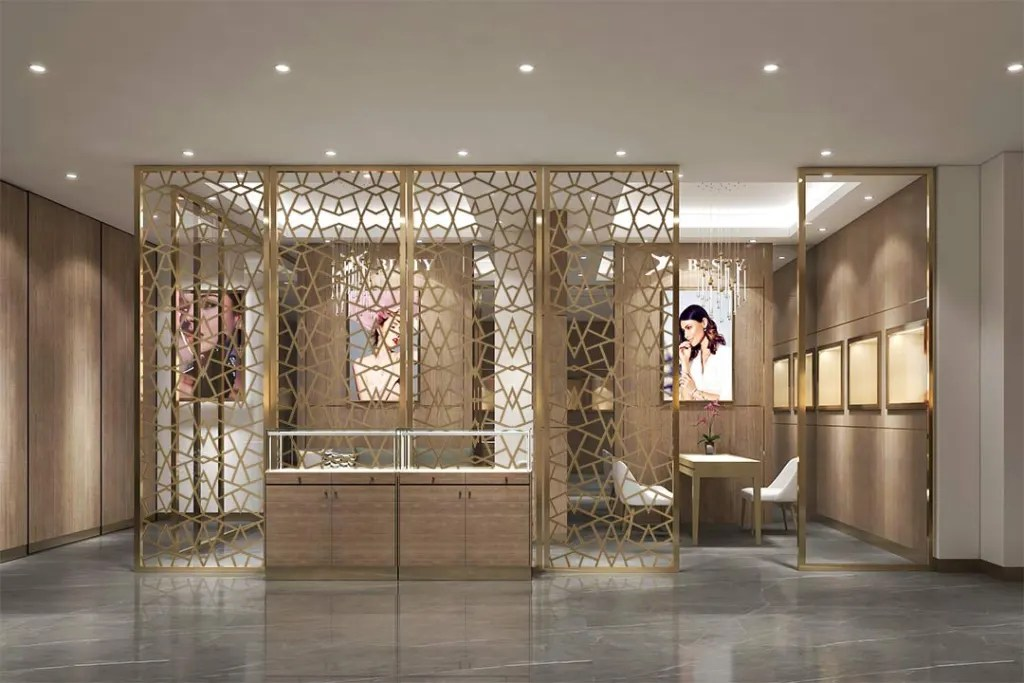 MPW-02 Metal Partition Wall | Besty Display
