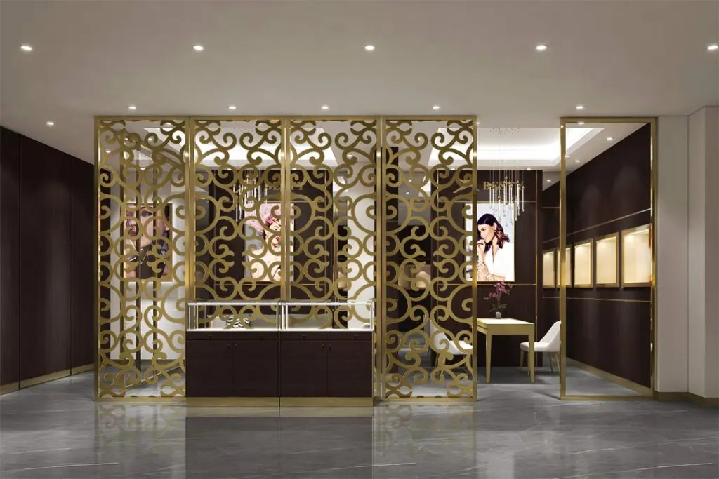 MPW-04 Metal Partition Wall   Besty Display