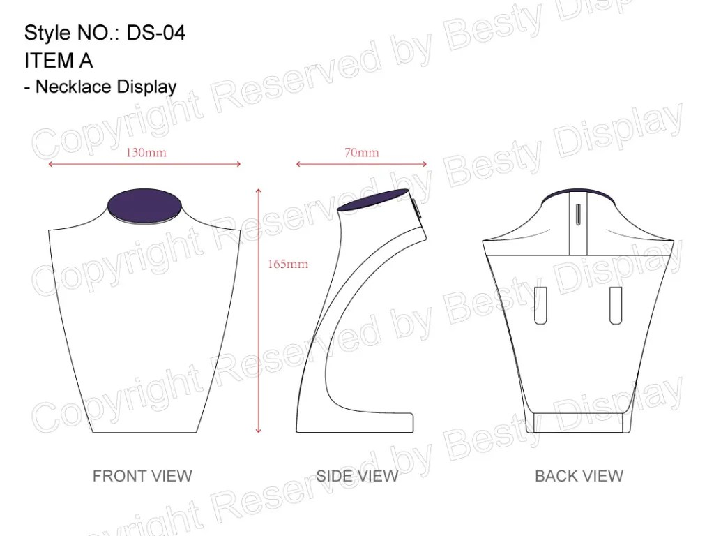DS-004 Item A Measurement | Besty Display