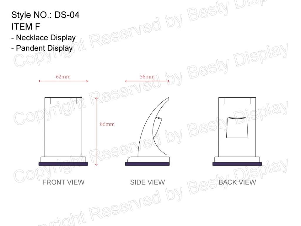 DS-004 Item F Measurement | Besty Display