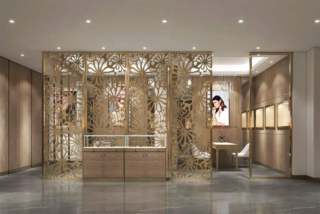 MPW-10 Metal Partition Wall   Besty Display