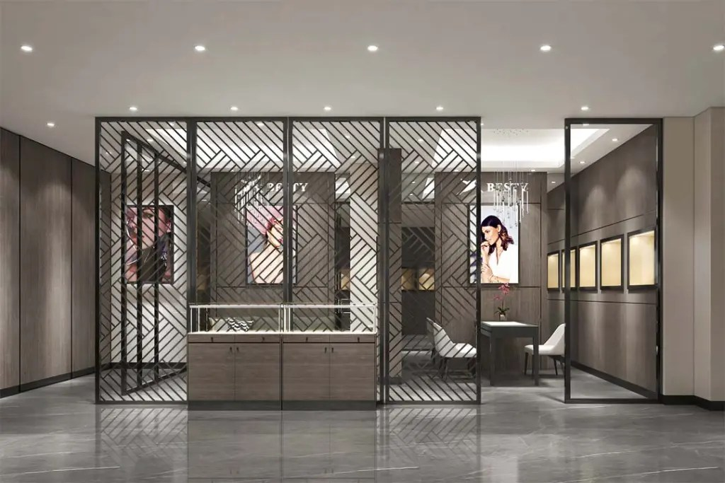 MPW-13 Metal Partition Wall   Besty Display