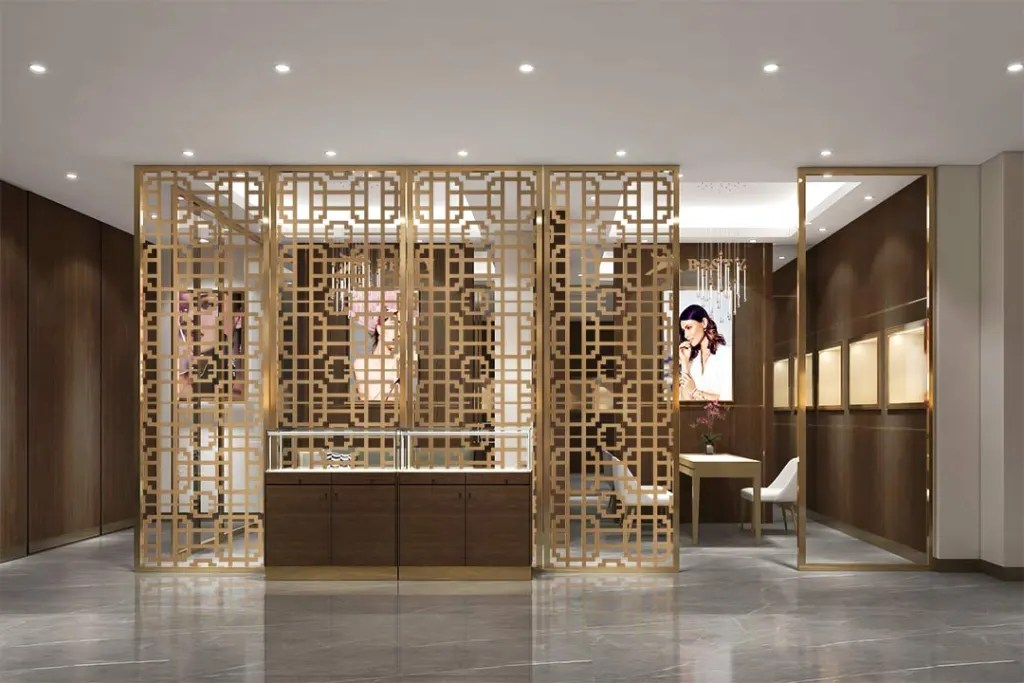 MPW-18 Metal Partition Wall | Besty Display