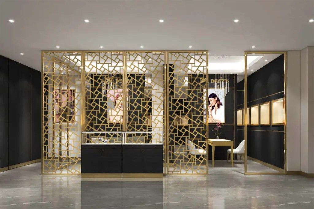 MPW-19 Metal Partition Wall   Besty Display