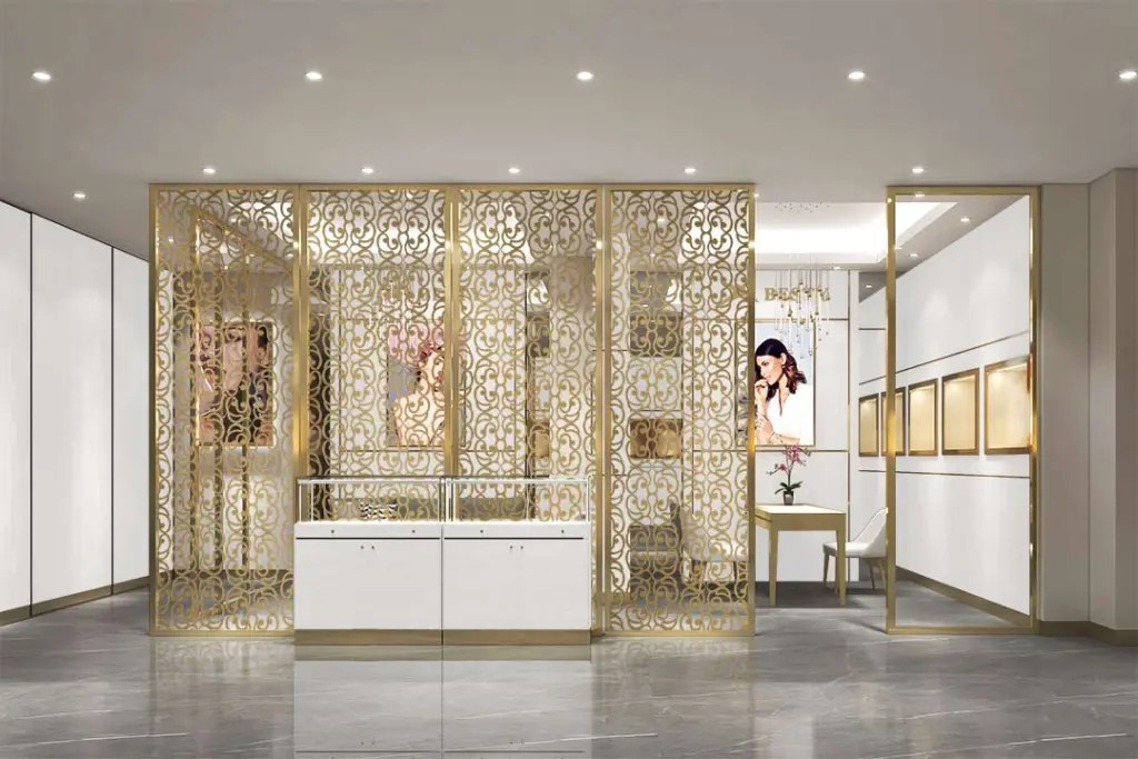 MPW-21 Metal Partition Wall | Besty Display