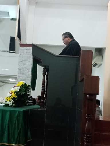 Khotbah oleh Praeses Pdt. Drs. Berlin Tamba, M.Div