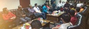 Praeses Pdt Drs Berlin Tamba M.Div Audiensi dengan Ketua DPRD Kota Depok