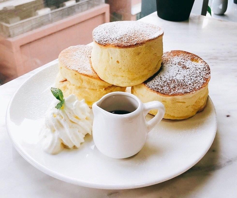 DSE 學生讀書 Cafe 推介: 沙田  Whitewood Coffee 原味厚鬆餅
