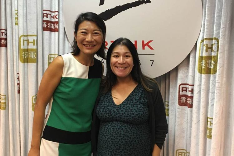 Daisy and Noreen Mir on RTHK radio 3