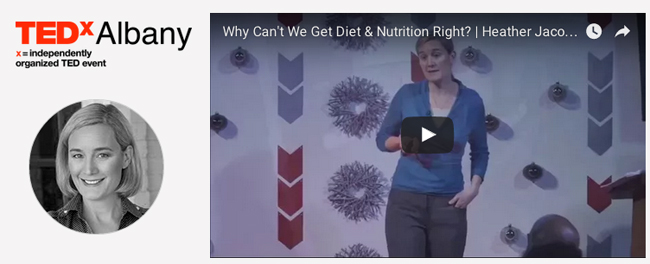 Why Can't We Get Diet and Nutrition Right? TEDx talk.