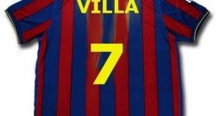 المشجعون يتوافدون لرؤية فيا بقميص برشلونة