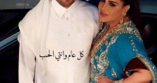 مبارك الهاجري يعايد زوجته أحلام بأجمل طريقة