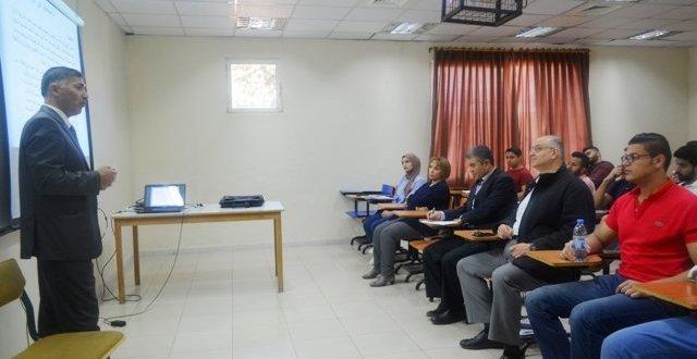 محاضرة علمية بجامعة عمان الأهلية حول الاستمطار الصناعي في الأردن