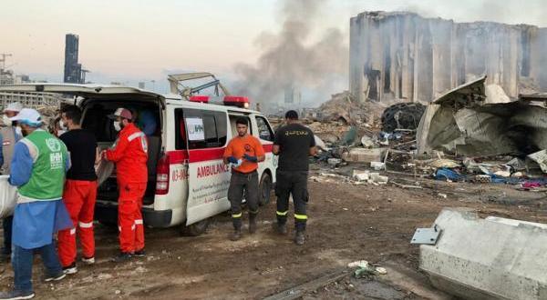 حصيلة جديدة لانفجار بيروت .. 137 قتيلا و5 آلاف جريح وعشرات المفقودين