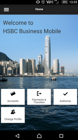HSBC Business Mobile, HSBC Incorparation