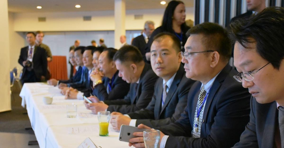 Návštěva politické delegace z čínské provincie Guangdong