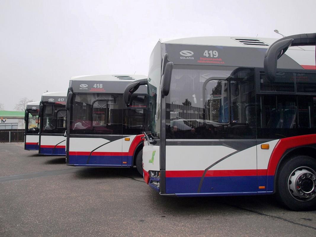 Dopravní podnik města Olomouce přijme do pracovního poměru řidiče autobusu