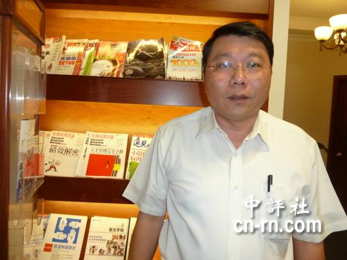 中國評論新聞:陳大鈞:綠有意角逐大位者都該和大陸對話