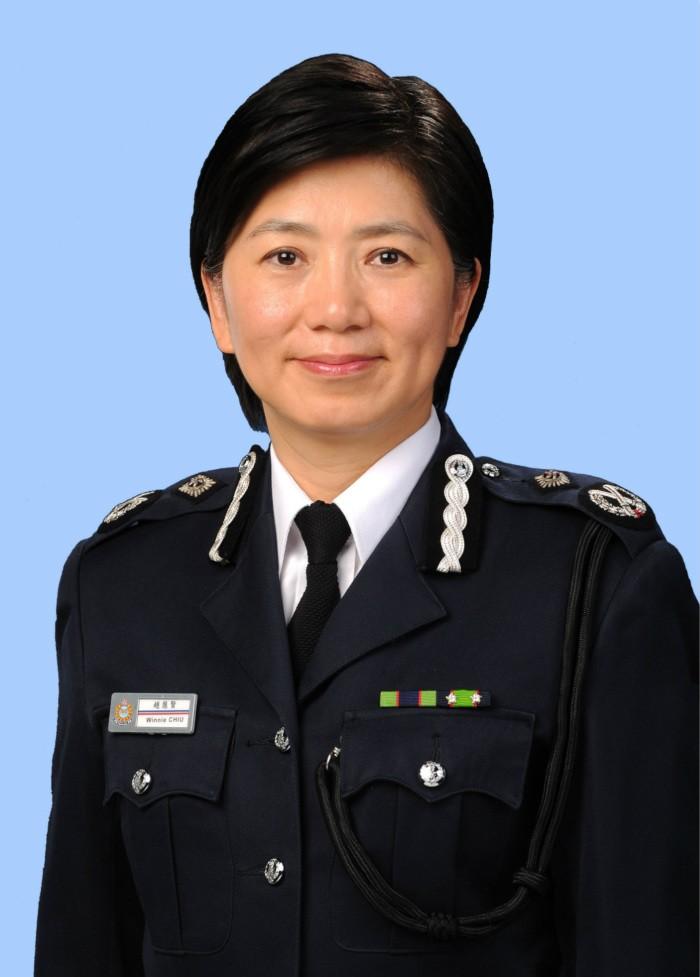 參與主權交接保安 港警務處誕生首位女副處長