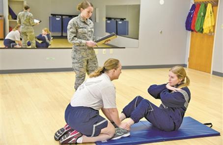 美空軍啟用新體能測試方法