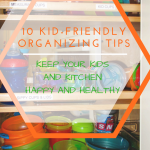 Family Friday::Kid-friendly kitchen organizing