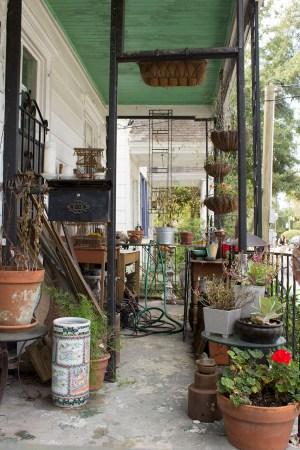 Hirona Matsuda's Outside Studio Porch