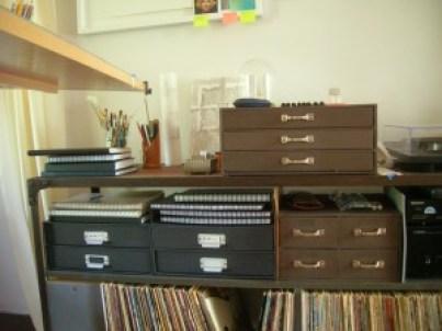 Alan Jackson-Storage Drawers in Studio