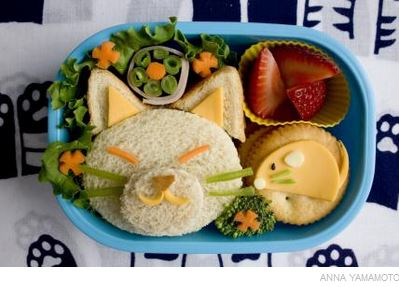Cat Bento Box Instructions