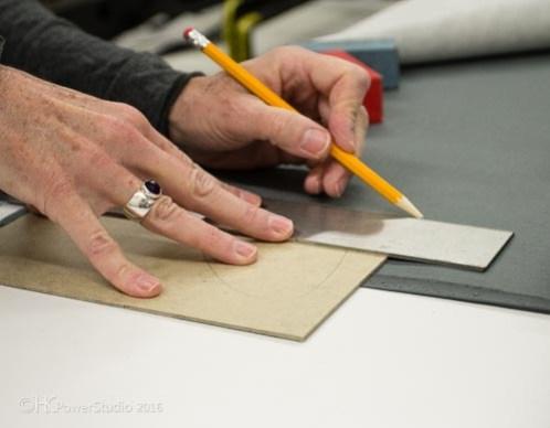 Artist Hands at work