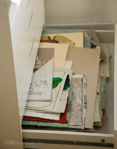 Case Jernigan's Organized Art Space