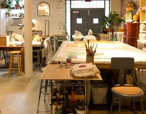 Barbara Zaretsky Art Studio Organization