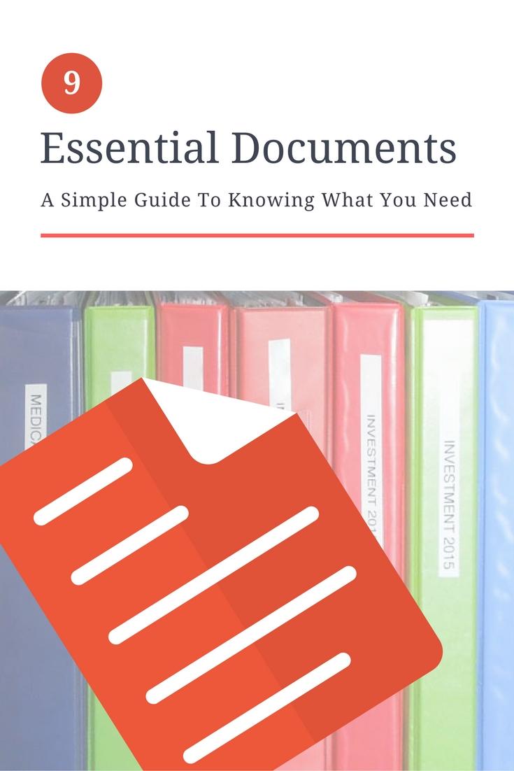 Essential Documents