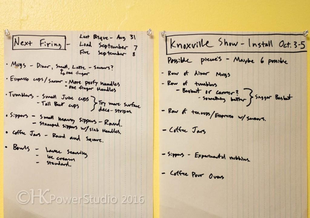 Austin Riddle's Arrowmont Studio