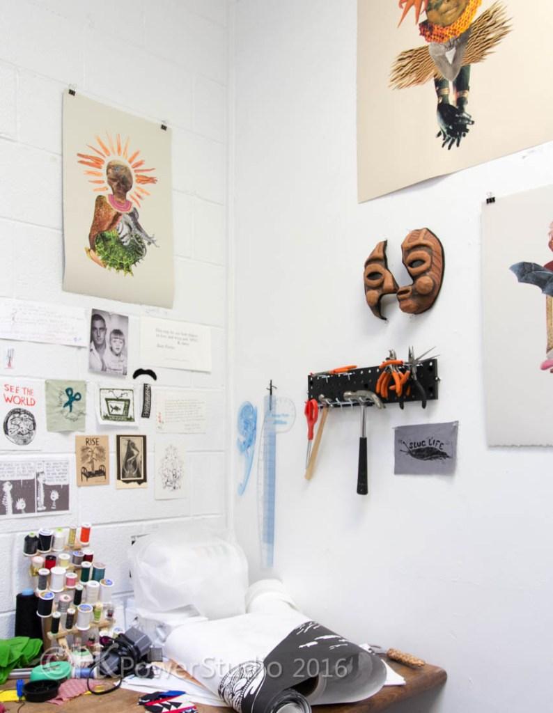 Emily Schubert's Arrowmont Studio