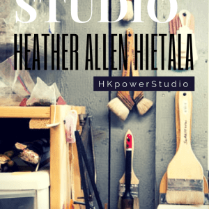 Inside the Studio with Heather Allen Hietala-Part II