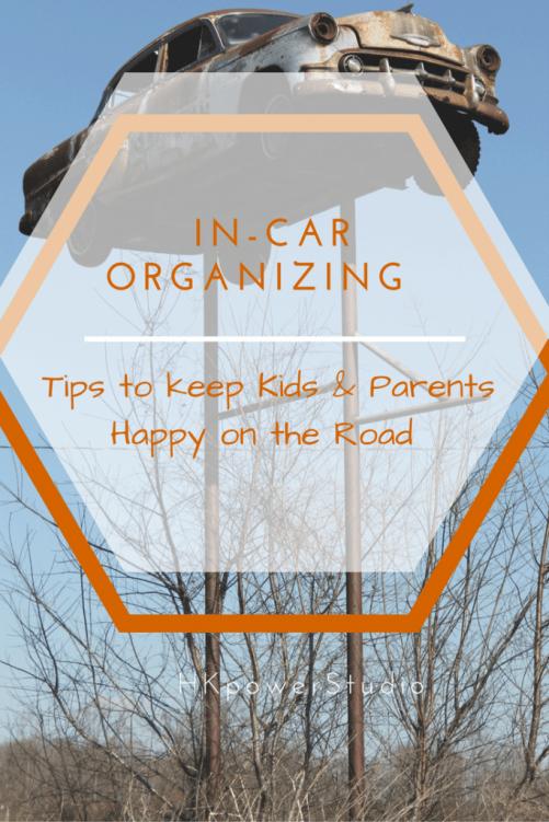 In Car Organizing Tips