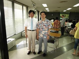 島崎先生と久田先生