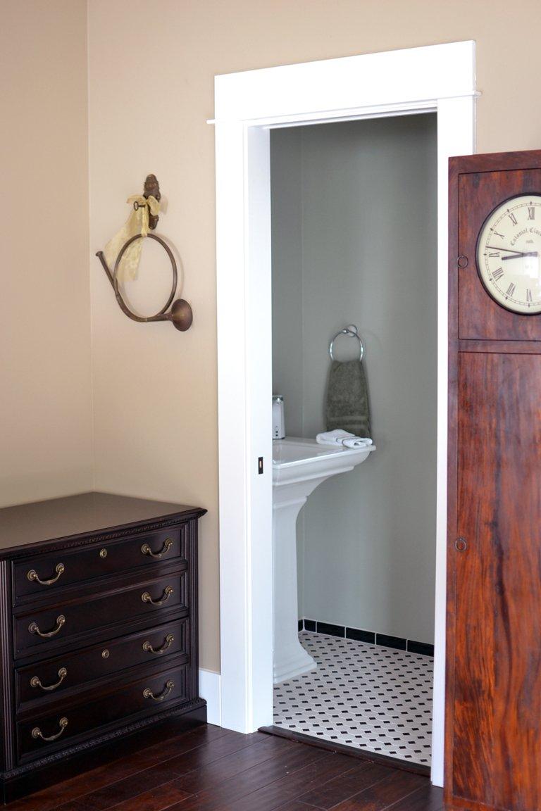 Pocket Door Half Bath Remodel